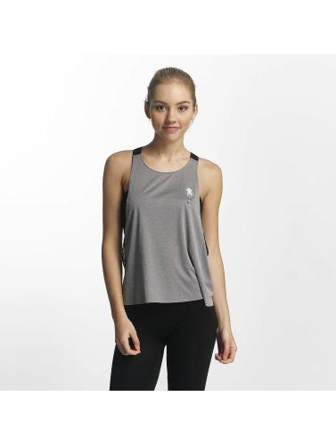 Hurley Damen Tank Tops Quick Dry Mesh in grau