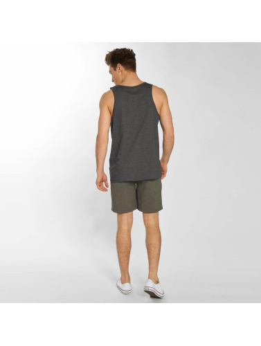 Hurley Hombres Tank Tops One & Only in gris