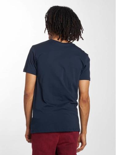 HYPE Hombres Camiseta Lockup in azul
