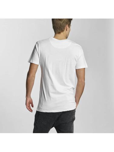 HYPE Hombres Camiseta Haus in blanco