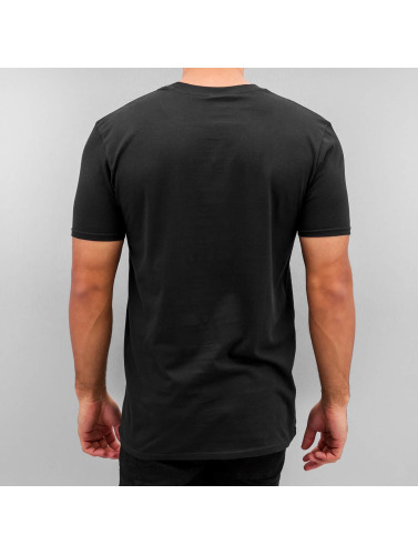 HYPE Hombres Camiseta Spot in negro