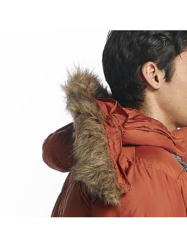 HYPE Hombres Chaqueta de invierno Explorer Puffa in naranja