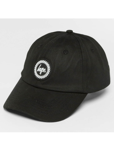 HYPE Snapback Cap Crest Dad Hat in schwarz