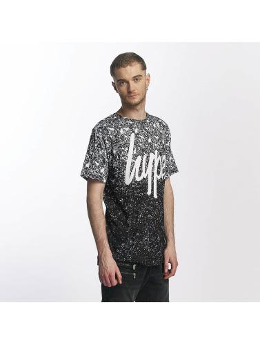 HYPE Herren T-Shirt Splat Speckle in schwarz