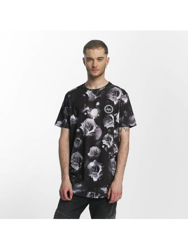 HYPE Herren T-Shirt Black Rose in schwarz