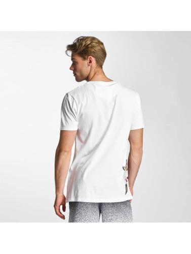HYPE Herren T-Shirt Floral Side in weiß
