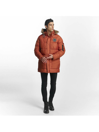 HYPE Herren Winterjacke Explorer Puffa in orange