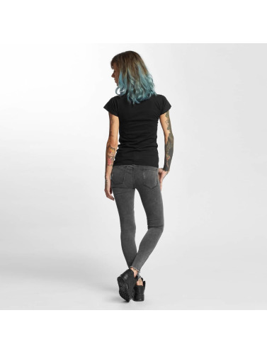 I Love Tattoo Damen T-Shirt City Of Ink in schwarz
