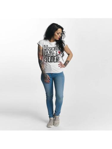 Kühl Einkaufen Billig Verkauf Verkauf I Love Tattoo Damen T-Shirt WSSWML in weiß Niedrigsten Preis Online IE0Bc0y