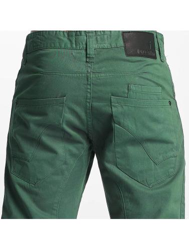 ID Denim Herren Loose Fit Jeans Fargo in grün