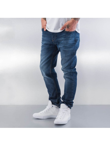 ID Denim Herren Straight Fit Jeans Regular in blau