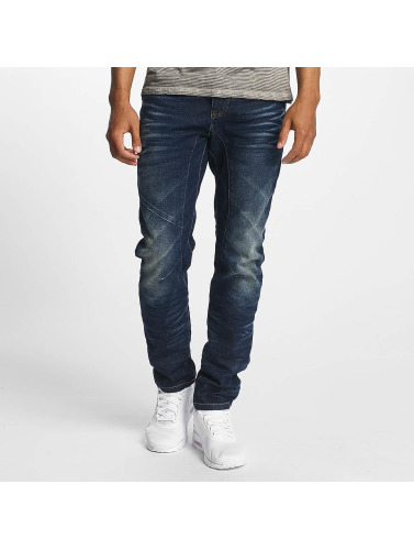 ID Denim Herren Straight Fit Jeans Five in blau