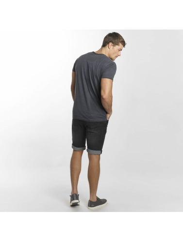 Indicode Herren Shorts Kaden in schwarz