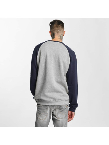 Iriedaily Herren Pullover Rugged Flag in grau