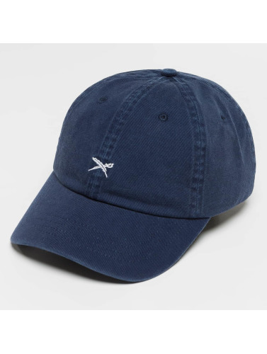 Iriedaily Snapback Cap Flag Dad in blau