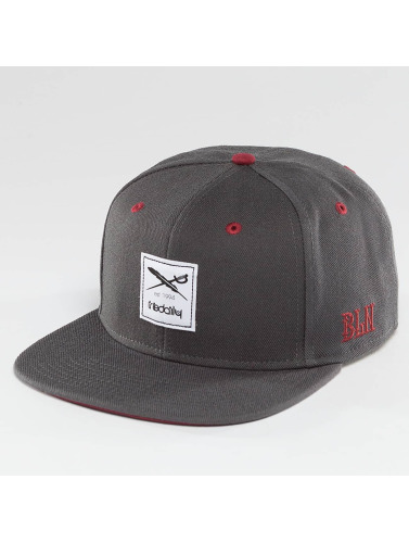 Iriedaily Snapback Cap Flag in grau