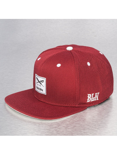Iriedaily Snapback Cap Daily Flag in rot