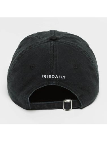 Iriedaily Snapback Cap Flag Dad in schwarz