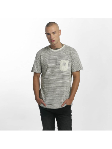 Iriedaily Herren T-Shirt Grand Pocket in beige