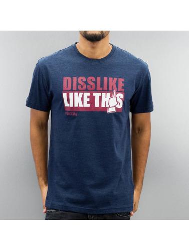Iriedaily Herren T-Shirt Like This Fitted in blau