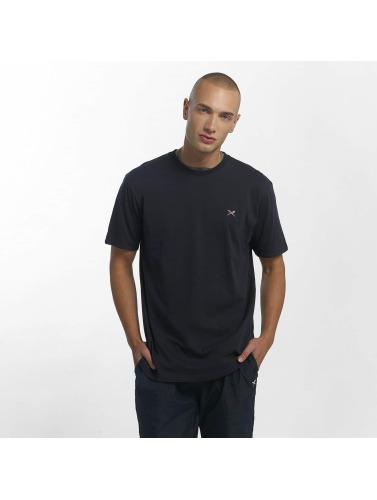 Iriedaily Herren T-Shirt Turn Up in blau