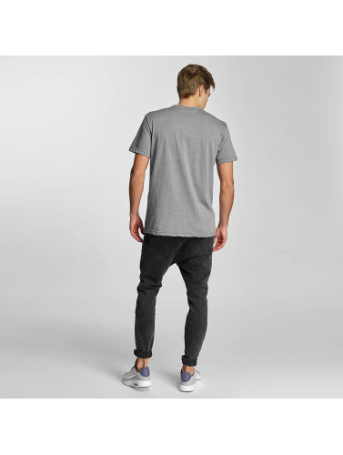Iriedaily Herren T-Shirt Daily Flag in grau