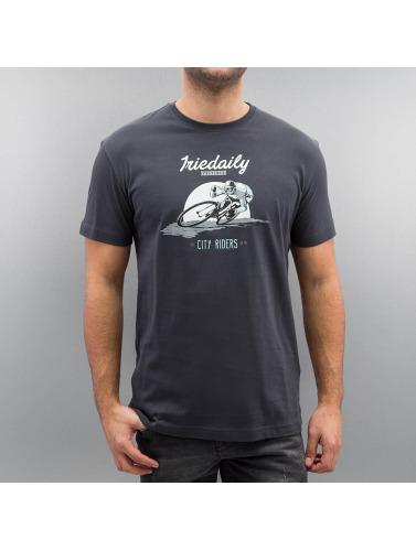 Iriedaily Herren T-Shirt City Riders in grau