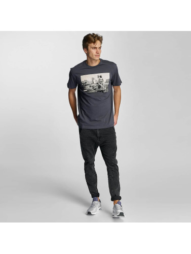 Iriedaily Herren T-Shirt Clown in grau