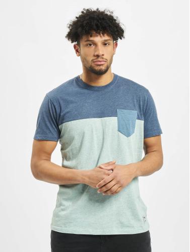 Iriedaily Herren T-Shirt Block Pocket in grün
