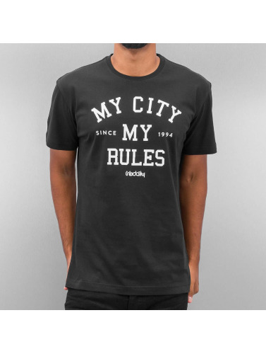 Iriedaily Herren T-Shirt My City in schwarz