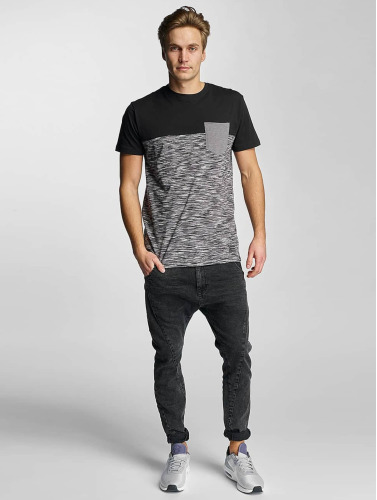Iriedaily Herren T-Shirt Space Slub Pocket in schwarz