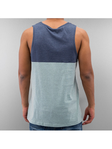 Iriedaily Herren Tank Tops Block Pocket in türkis