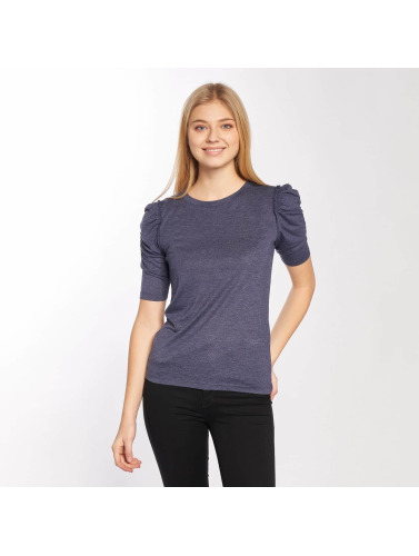YONG azul manga jdyFanny Puff 4 larga de de Sleeve JACQUELINE in Mujeres Camiseta 2 CAO4X5qwq
