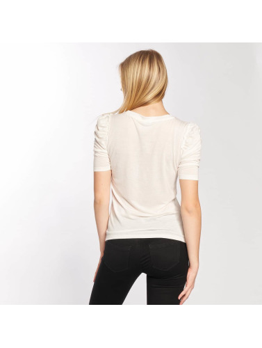 JACQUELINE de YONG Mujeres Camiseta de manga larga jdyFanny 2/4 Puff Sleeve in blanco
