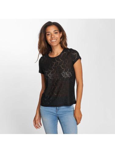 JACQUELINE de YONG Mujeres Camiseta jdyTag Lace in negro