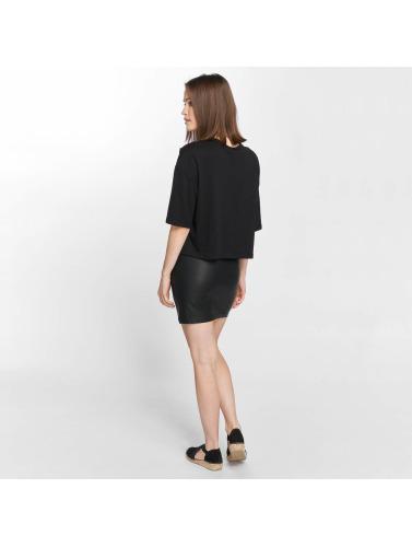 JACQUELINE de YONG Mujeres Falda jdyBounty Faux Leather in negro