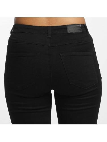 JACQUELINE de YONG Damen High Waist Jeans jdySkinny Ulle in schwarz