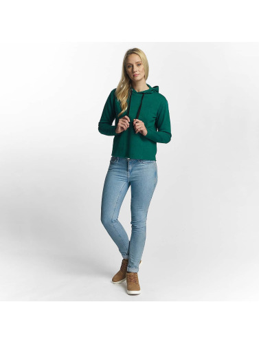 JACQUELINE de YONG Damen Hoody jdyTori in grün
