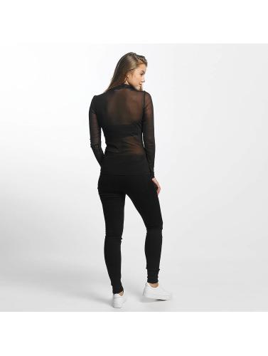 JACQUELINE de YONG Mujeres Jeans de cintura alta jdySkinny Ulle in negro