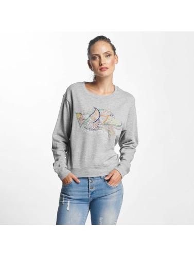 JACQUELINE de YONG Mujeres Jersey jdyAntonia EMB in gris