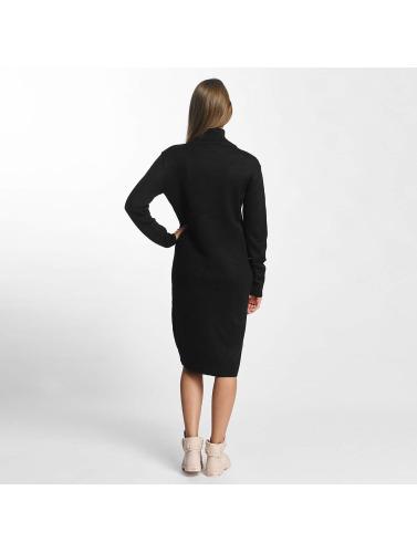JACQUELINE de YONG Damen Kleid jdySilk Plain in schwarz