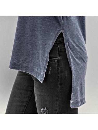 JACQUELINE de YONG Damen Longsleeve JdyBurn L/S Tunic in blau