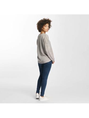 JACQUELINE de YONG Damen Pullover jdyKeeks in grau