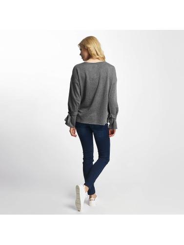 JACQUELINE de YONG Damen Pullover jdyBrace in grau