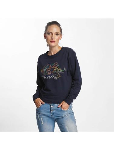 JACQUELINE de YONG Damen Pullover jdyAntonia EMB in schwarz