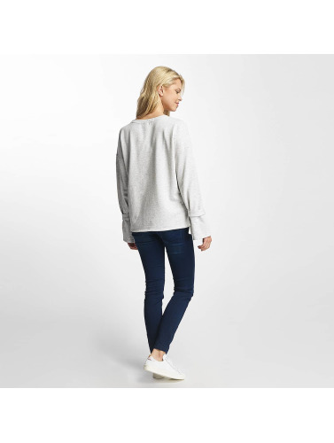 JACQUELINE de YONG Damen Pullover jdyBrace in weiß