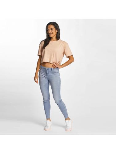 JACQUELINE de YONG Damen Skinny Jeans jdySkinny Reg Ulle in blau
