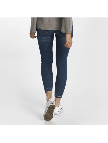 JACQUELINE de YONG Damen Skinny Jeans jdySkinny in blau