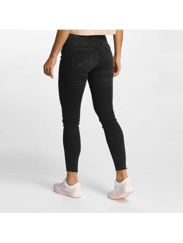 JACQUELINE de YONG Damen Skinny Jeans jdySkinny Low Jake in grau