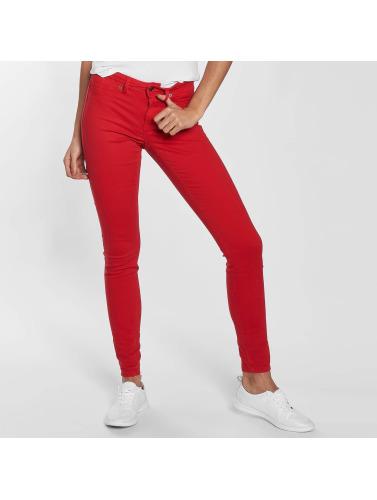 JACQUELINE de YONG Damen Skinny Jeans jdyNew Five in rot